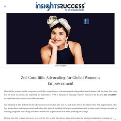 Advocating for Global Women's Empowerment