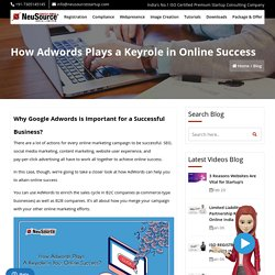 Adwords Benefits for Online Business, Adwords for Business