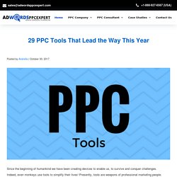 29 PPC Tools That Lead the Way This Year - Adwordppcexpert