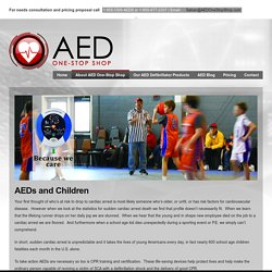 Buy AEDs Child Pads and Pediatric electrodes from AED One-Stop Shop