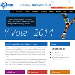 AEGEE-Europe | AEGEE - European Students Forum - Association