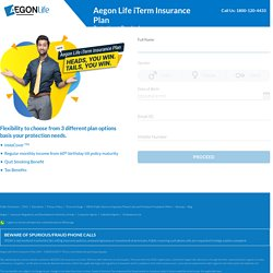 iTerm Insurance Online at Aegon Life