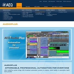 AEQ USA - AudioPlus