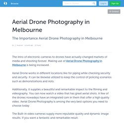 Aerial Drone Photography in Melbourne