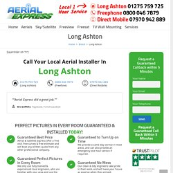 TV Aerial And Satellite Dish Services in Long Ashton