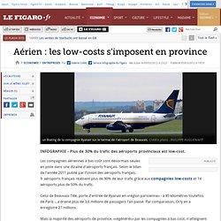 Aérien : les low-costs s'imposent en province