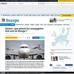 Aérien : que pèsent les compagnies low cost en Europe ?