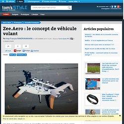 Zee.Aero : le concept de véhicule volant