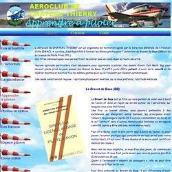 Aéroclub de CHATEAU THIERRY - Les titres aéronautiques