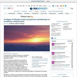 Arctique: la Russie remet sur pieds ses aérodromes et sa défense antiaérienne