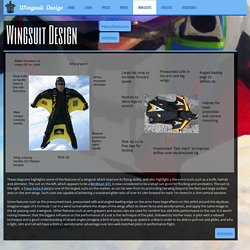 Wingsuit Features Aerodynamic Design: Materials, Construction & Components