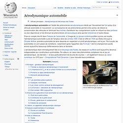 Aérodynamique automobile