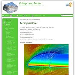 Aérodynamique - Collège Jean Racine