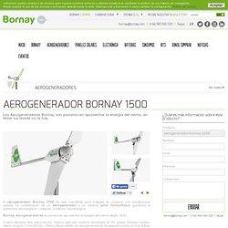 Aerogenerador Bornay 1500