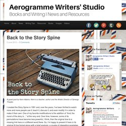 Back to the Story Spine | Aerogramme Writers' StudioBack to the Story Spine