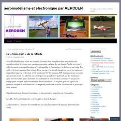 «aéromodélisme et électronique par AERODEN