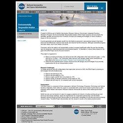 Environmentally Responsible Aviation (ERA) Project