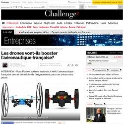 Les drones vont-ils booster l'aéronautique française?