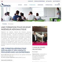 Formation Ingénieur Aéronautique - Ecole d'Ingénieurs ESTACA