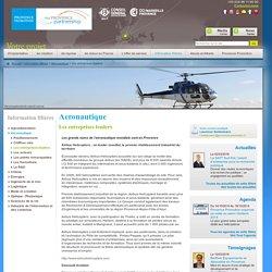 Aéronautique en Provence - Les entreprises leaders - InvestinProvence