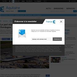 Le pari réussi de l'aéroport de Bergerac en Dordogne - France 3 Aquitaine