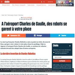 A l'aéroport Charles de Gaulle, des robots se garent à votre place