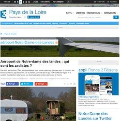 Aéroport de Notre-dame des landes : qui sont les zadistes ? - France 3 Pays de la Loire
