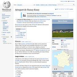 Aéroport de Nancy-Essey