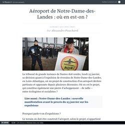 Aéroport de Notre-Dame-des-Landes: où en est-on?