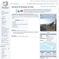 Aéroport de Santiago de Cuba