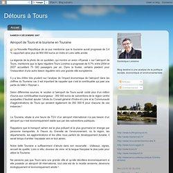 Aéroport de Tours et le tourisme en Touraine