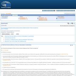 RAPPORT sur l'avenir des aéroports et des services aériens régionaux dans l'Union européenne - A7-0094/2012