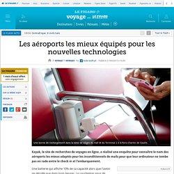 Les aéroports les mieux équipés pour les nouvelles technologies