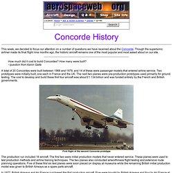 Ask Us - Concorde History