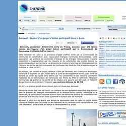 Aérowatt : lauréat d'un projet d'éolien participatif dans la Loire > Eolien