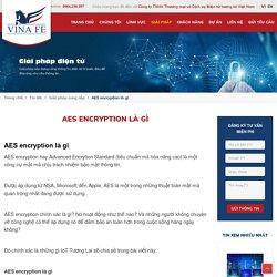 AES encryption là gì