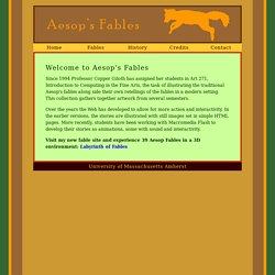 Aesop's Fables Browser Alert