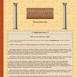 Aesop's Fables - Online Collection - 656+ fables -