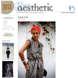 Street Style Aesthetic – Wayne Tippetts » Blog Archive » Turban Chic