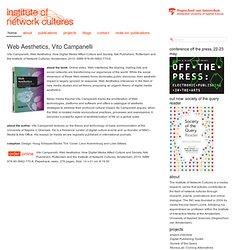 Web Aesthetics, Vito Campanelli