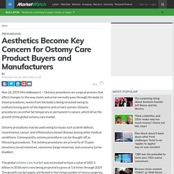 Aesthetics Become Key Concern for Ostomy Care Product Buyers and Manufacturers