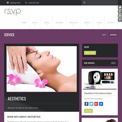 Natural & Organic Facial Services- RSVP Med Spa