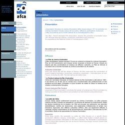 AFCA - Association française du cinéma d'animation