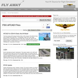 AFCAD Files Downloads for FSX