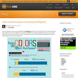 ¿Cómo afectan los colores en las compras? [Infografía]