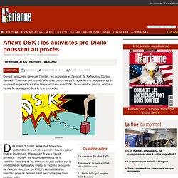 Affaire DSK : les activistes pro-Diallo poussent au procès