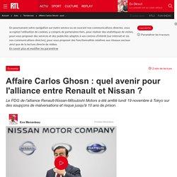 Affaire Carlos Ghosn : quel avenir pour l'alliance entre Renault et Nissan ?