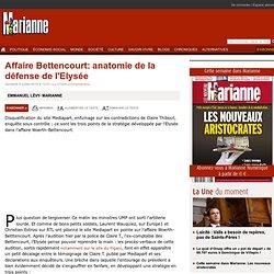 Affaire Bettencourt: anatomie de la défense de l'Elysée
