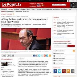 Affaire Bettencourt : nouvelle mise en examen pour Éric Woerth