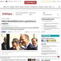 Affaire Woerth/Bettencourt: 5 questions en suspens